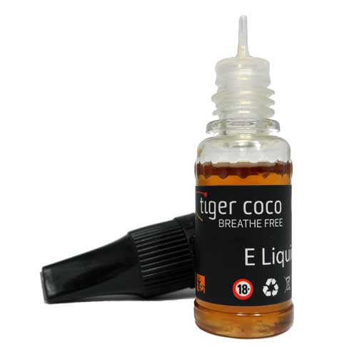 Tobacco E Liquid Zero Nicotine (0mg) 10ml