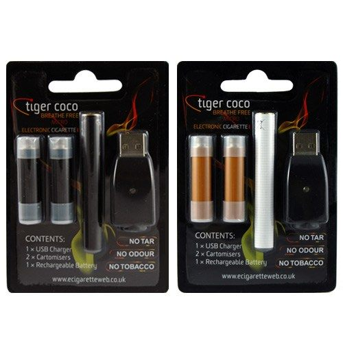 Black and White Micro E-Cigarette Kits